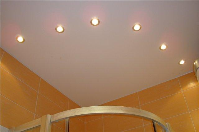 Варианты освещения в ванной фото